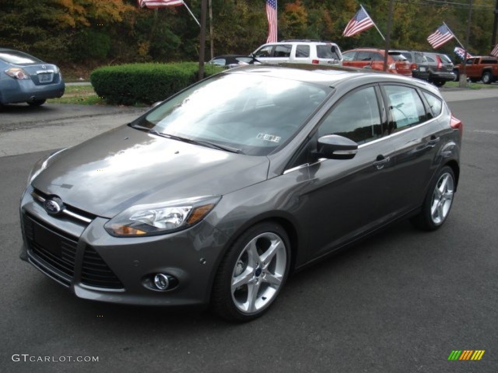 sterling gray 2013 ford focus titanium hatchback exterior photo. Cars Review. Best American Auto & Cars Review