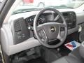 2012 Graystone Metallic Chevrolet Silverado 1500 Work Truck Regular Cab 4x4  photo #4