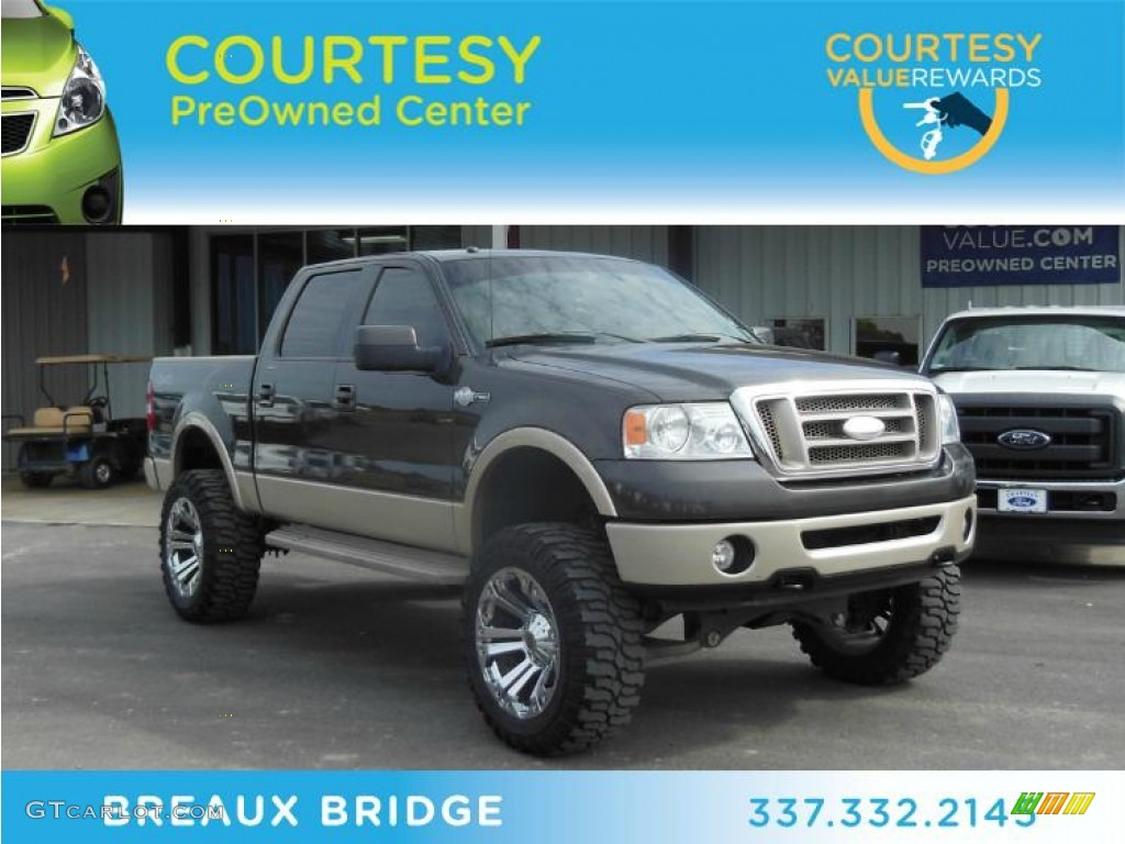 Dark shadow grey metallic ford f150 ford f150 king ranch supercrew 4x4