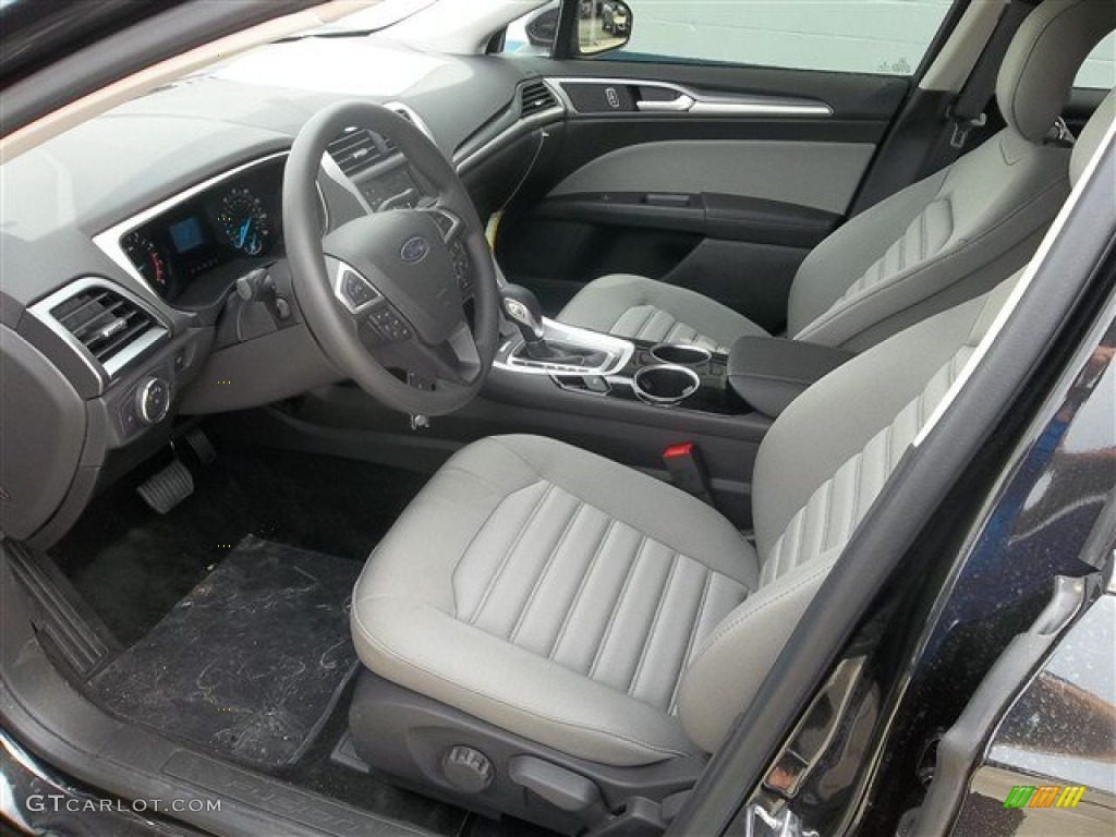 Earth Gray Interior 2013 Ford Fusion S Photo 72259627