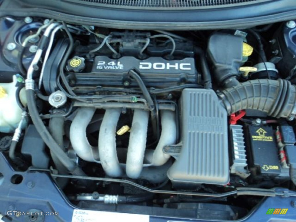 1999 Dodge Stratus Standard Model 2 4 Liter Dohc 16 Valve Cylinder Engine Photo