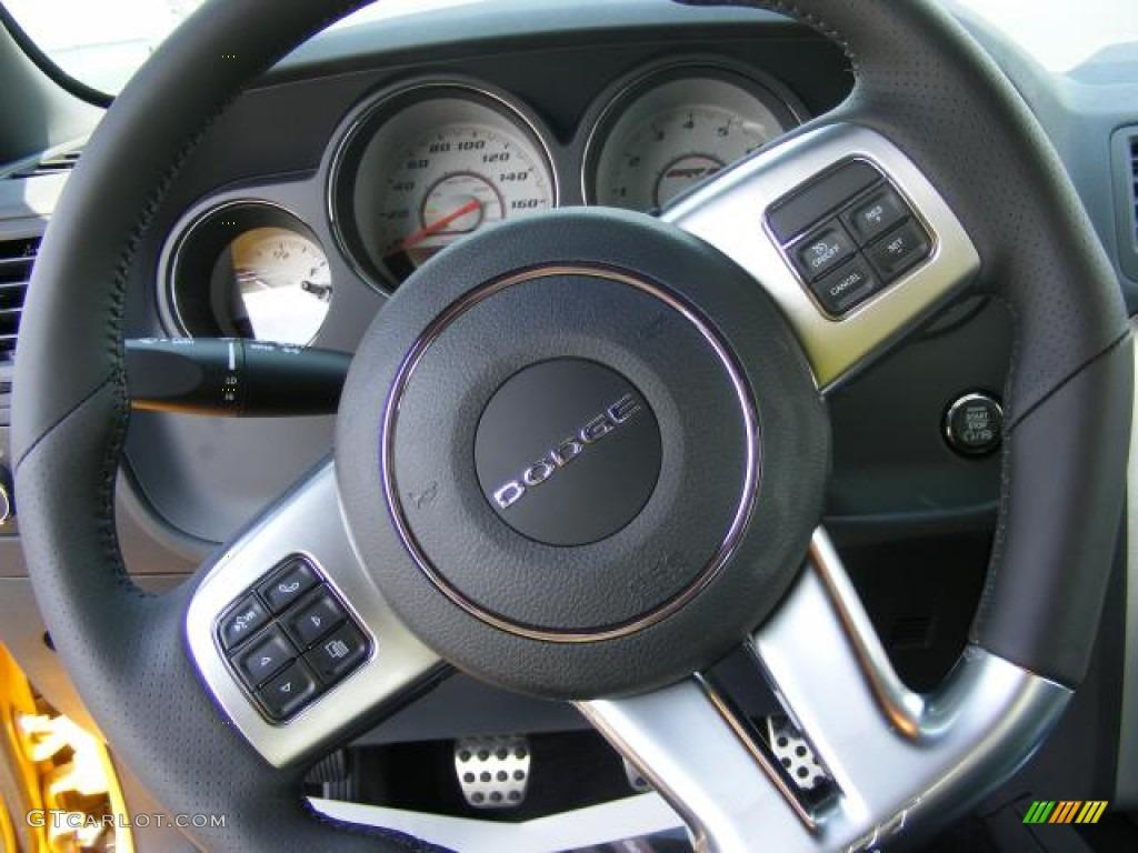 2012 dodge challenger srt8 yellow jacket steering wheel photos gtcarlot com
