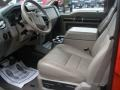 2009 Ford F250 Super Duty Medium Stone Interior Interior Photo