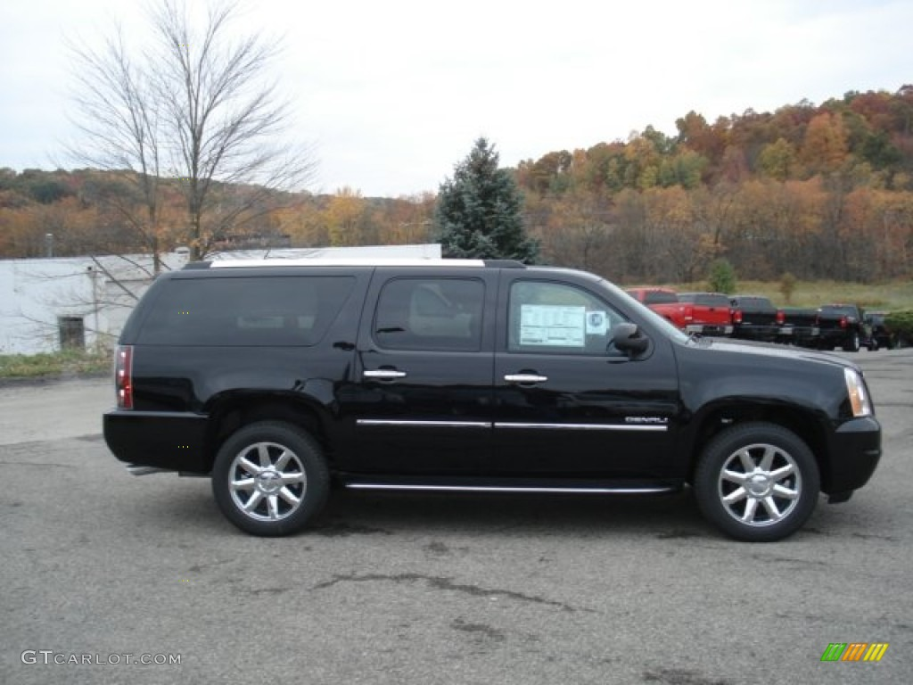 onyx black 2013 gmc yukon xl denali awd exterior photo 72288871. Black Bedroom Furniture Sets. Home Design Ideas