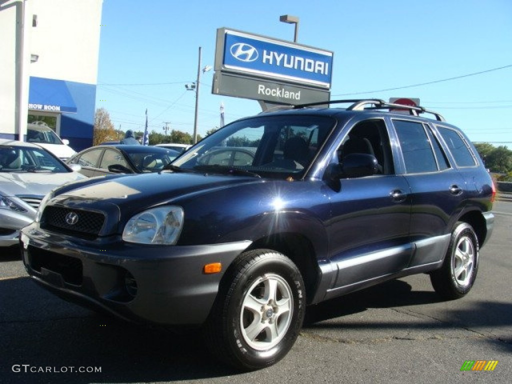 2004 moonlit blue hyundai santa fe 72246266 car color galleries. Black Bedroom Furniture Sets. Home Design Ideas