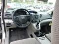 2013 Alabaster Silver Metallic Honda CR-V LX AWD  photo #12