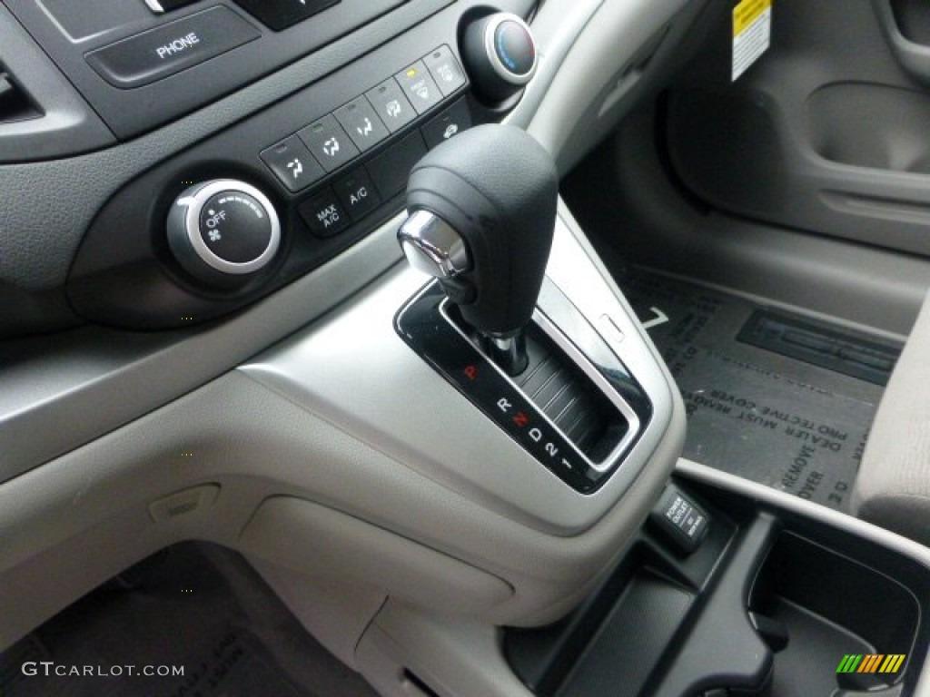 2013 CR-V LX AWD - Alabaster Silver Metallic / Gray photo #16