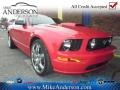 2007 Torch Red Ford Mustang GT Premium Coupe  photo #1