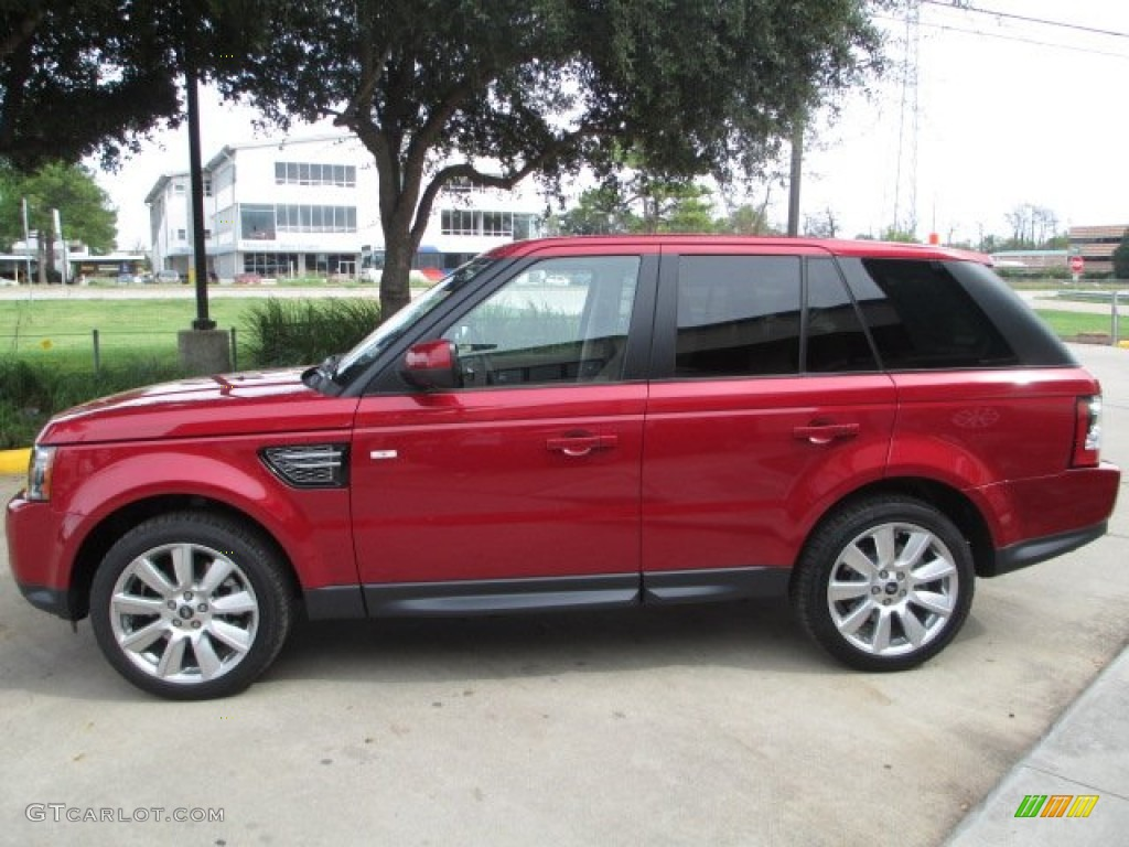 firenze red metallic 2013 land rover range rover sport hse exterior photo 72304619. Black Bedroom Furniture Sets. Home Design Ideas
