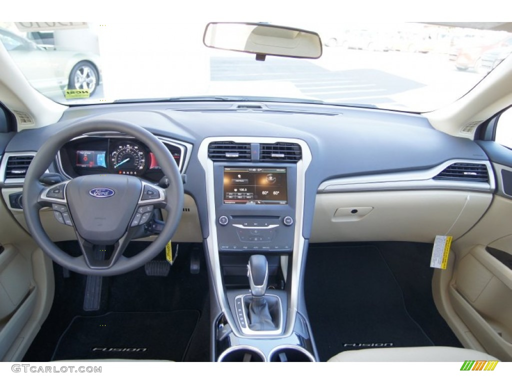 2013 Ford Fusion Se Dune Dashboard Photo 72304958