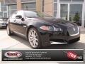 Midnight Black 2012 Jaguar XF Supercharged