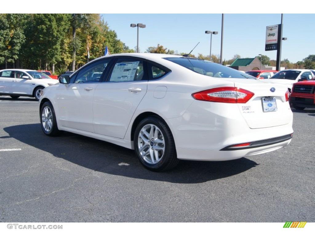 White Platinum Metallic Tri-coat 2013 Ford Fusion SE Exterior Photo ...