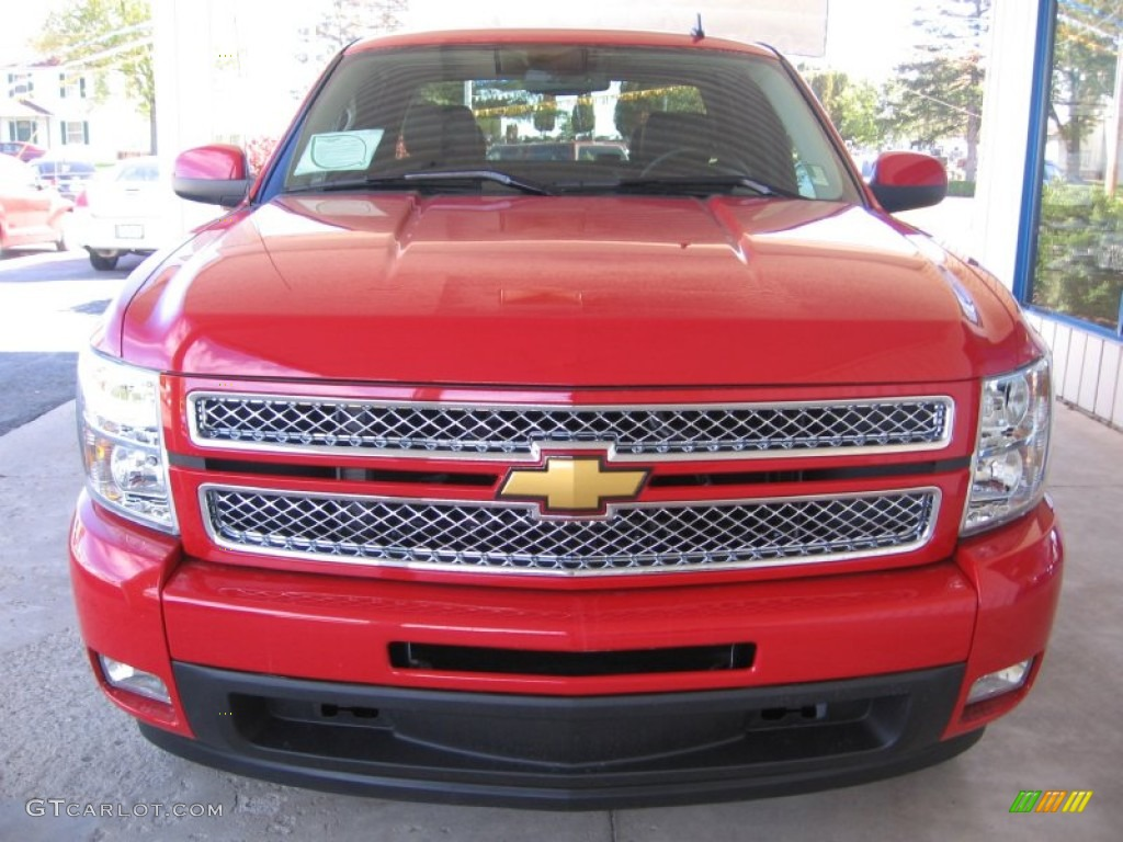 Victory red 2013 chevrolet silverado 1500 ltz extended cab exterior photo 72317316