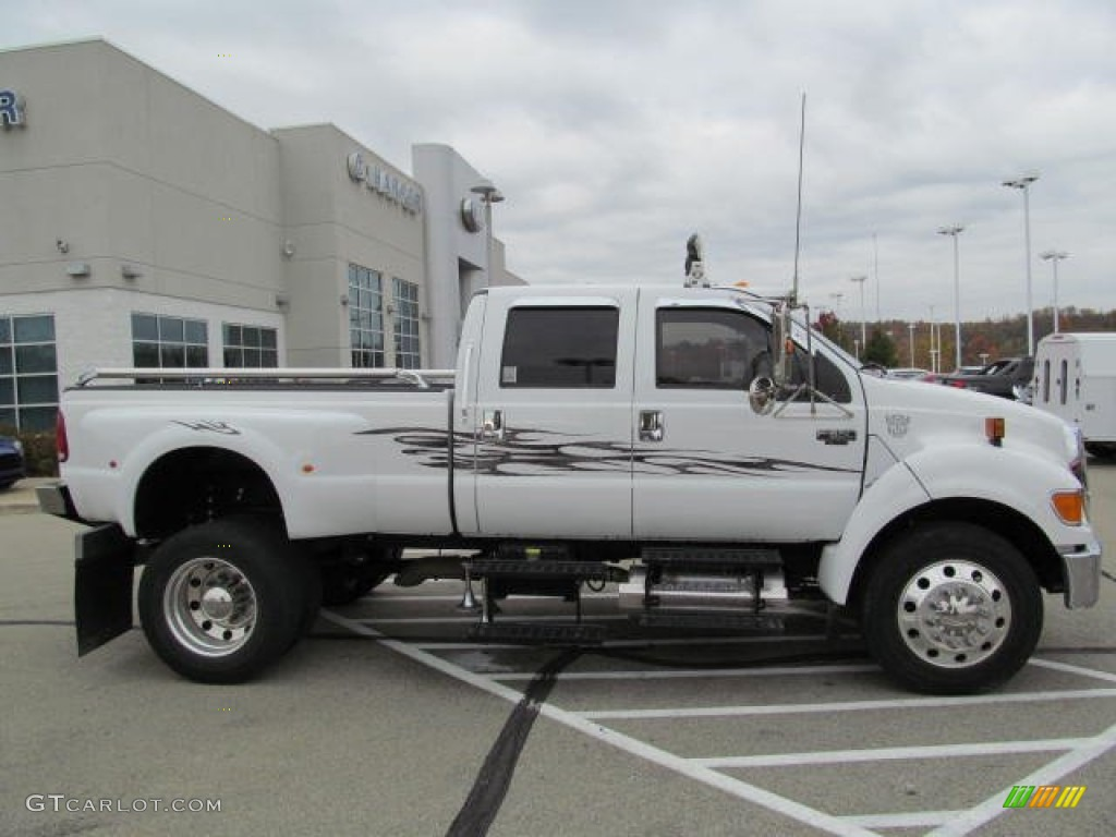 oxford white 2008 ford f650 super duty xlt crew cab custom. Black Bedroom Furniture Sets. Home Design Ideas