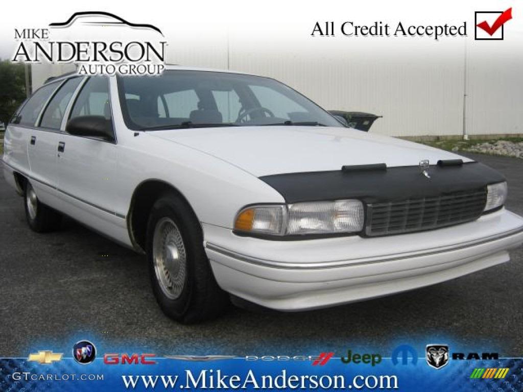 Bright White Chevrolet Caprice