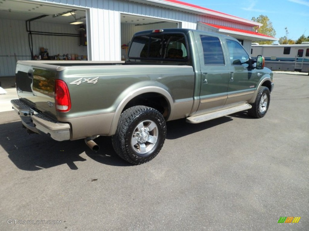 Ford F250 Xl >> Estate Green Metallic 2004 Ford F250 Super Duty King Ranch Crew Cab 4x4 Exterior Photo #72327095 ...