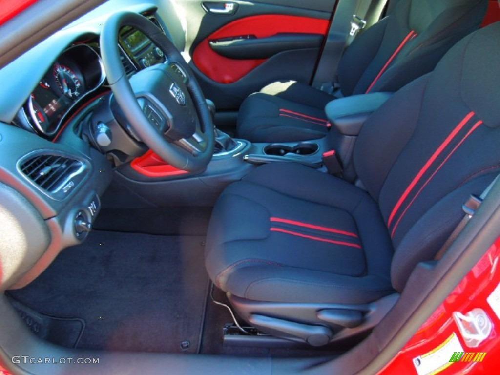 2013 Dodge Dart Rallye Interior Photo #72335105