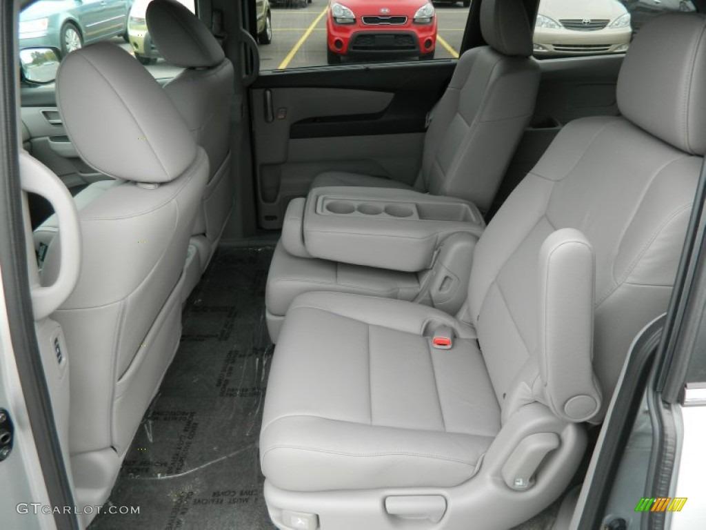 Gray Interior 2013 Honda Odyssey Ex L Photo 72335343 Gtcarlot Com