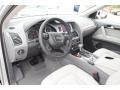Limestone Gray 2013 Audi Q7 Interiors