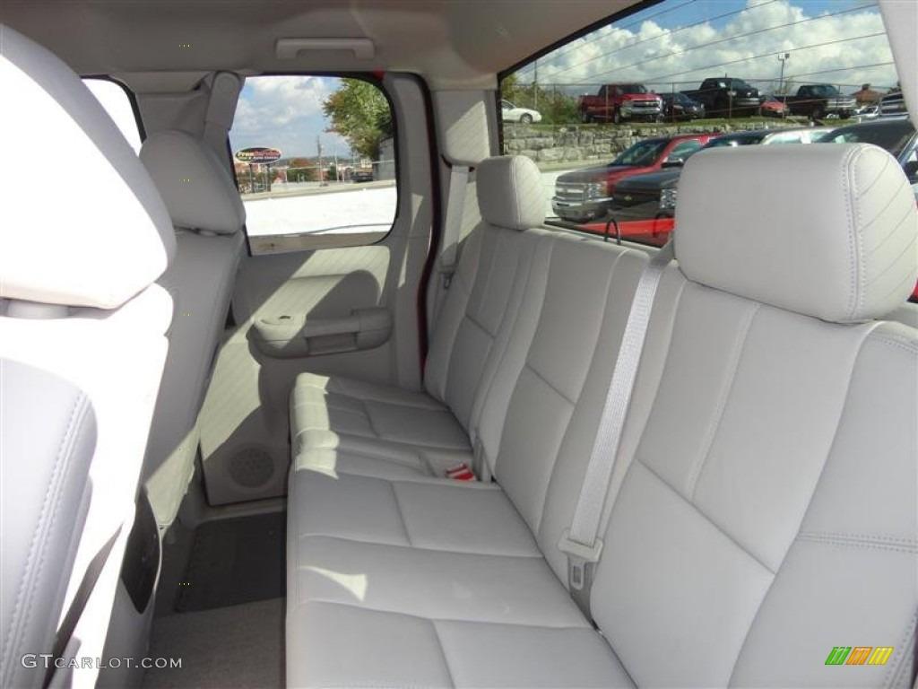 2012 Silverado 1500 LT Extended Cab 4x4 - Victory Red / Light Titanium/Dark Titanium photo #4