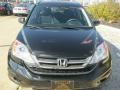 2010 Crystal Black Pearl Honda CR-V LX AWD  photo #2