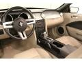 2007 Ford Mustang Medium Parchment Interior Prime Interior Photo