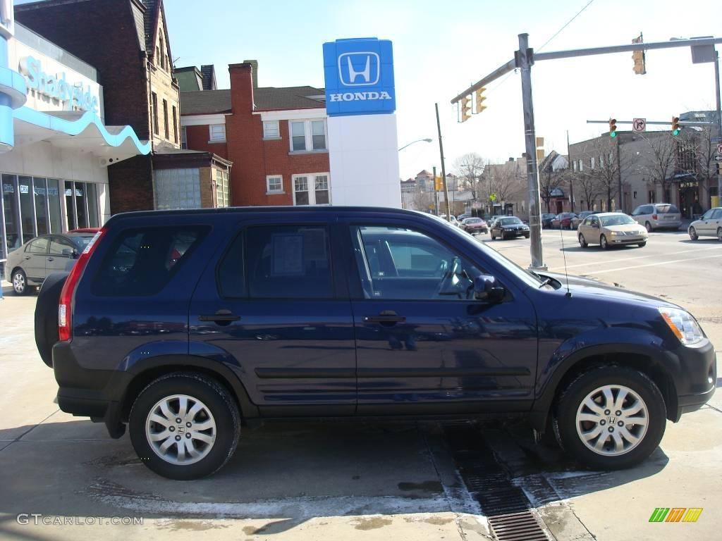 2006 Royal Blue Pearl Honda Cr V Ex 4wd 7220557 Gtcarlot Com Car Color Galleries