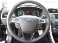 Charcoal Black Steering Wheel Photo for 2013 Ford Fusion #72352751