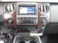 2012 White Platinum Metallic Tri-Coat Ford F250 Super Duty Lariat Crew Cab 4x4  photo #27