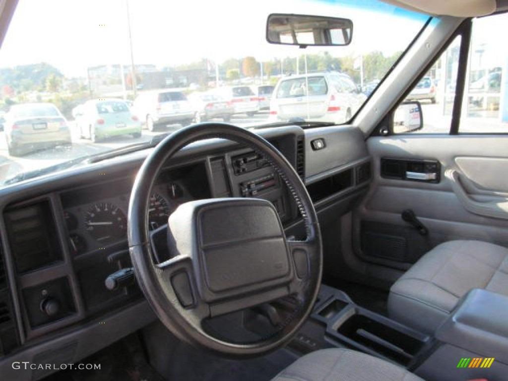 1996 jeep cherokee sport 4wd interior color photos