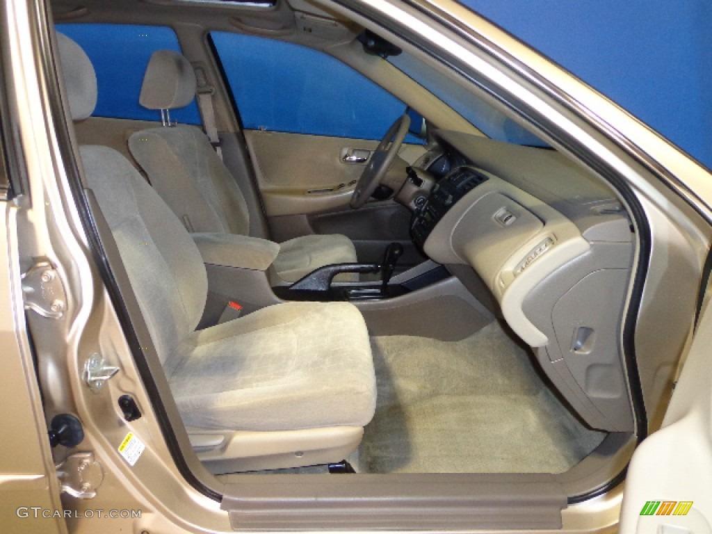 2001 Naples Gold Metallic Honda Accord Ex Sedan 72346531 Photo 25 Car Color