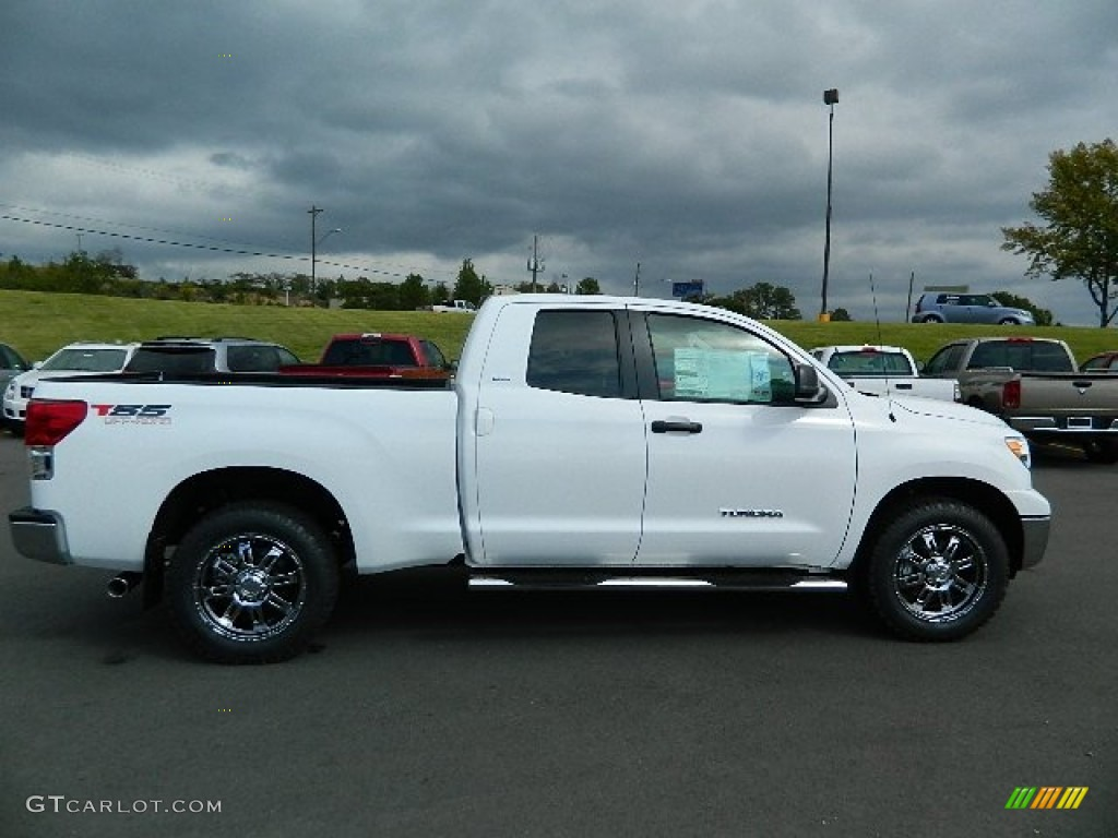super white 2013 toyota tundra tss double cab exterior photo 72370023. Black Bedroom Furniture Sets. Home Design Ideas