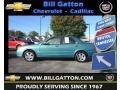Seabreeze Green Mica 2001 Mazda Protege ES