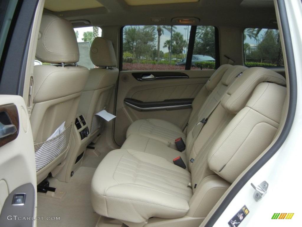 Almond Beige Interior 2013 Mercedes Benz Gl 450 4matic Photo 72379858