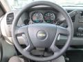 2012 Chevrolet Silverado 1500 Dark Titanium Interior Steering Wheel Photo