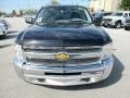 2012 Black Chevrolet Silverado 1500 LS Crew Cab 4x4  photo #14
