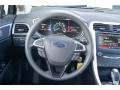 Charcoal Black Steering Wheel Photo for 2013 Ford Fusion #72393702