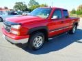 2006 Victory Red Chevrolet Silverado 1500 LT Extended Cab 4x4  photo #2