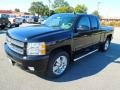 2013 Black Chevrolet Silverado 1500 LTZ Extended Cab 4x4  photo #2