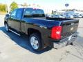 2013 Black Chevrolet Silverado 1500 LTZ Extended Cab 4x4  photo #4