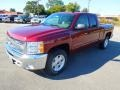 2013 Deep Ruby Metallic Chevrolet Silverado 1500 LT Extended Cab  photo #2