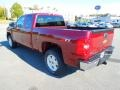 2013 Deep Ruby Metallic Chevrolet Silverado 1500 LT Extended Cab  photo #4