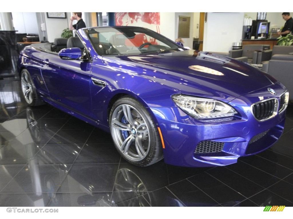 Colour car metallic - 2012 M6 Convertible San Marino Blue Metallic Black Photo 1