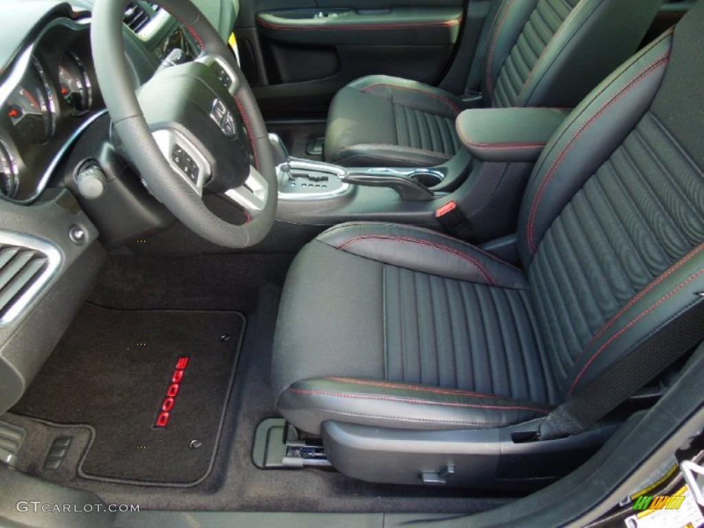 black red interior 2013 dodge avenger r t photo 72406396 gtcarlot com gtcarlot com