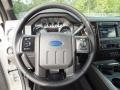 2012 White Platinum Metallic Tri-Coat Ford F250 Super Duty Lariat Crew Cab 4x4  photo #14