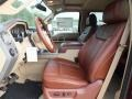 2012 Ford F250 Super Duty Chaparral Leather Interior Front Seat Photo