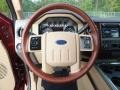 2012 Ford F250 Super Duty Chaparral Leather Interior Steering Wheel Photo