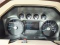 2012 Ford F250 Super Duty Chaparral Leather Interior Gauges Photo