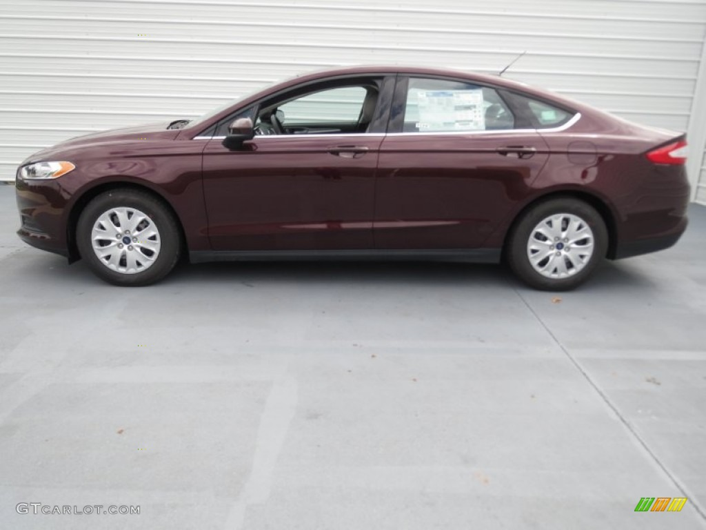 Bordeaux Reserve Red Metallic 2013 Ford Fusion S Exterior Photo 72409312