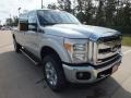 2012 Ingot Silver Metallic Ford F250 Super Duty Lariat Crew Cab 4x4  photo #1